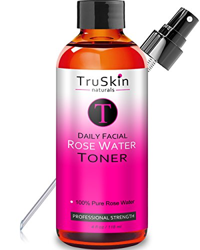 Rose Water Facial Toner Spray - Natural Astringent Face Mist - No artificial fragrance or added...