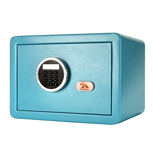 TIGERKING Digital Electronic Security Safe Box Bigger Size,More Storage Space,Features with Thicker Solid Steel Plate,Great for Home,Office,Hotel