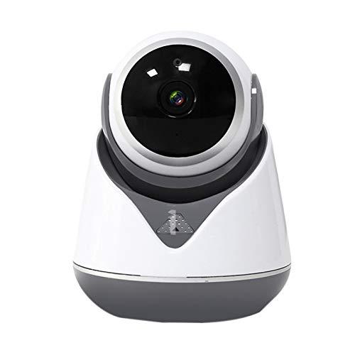 Andifany Inicio Cámara CCTV 1080P Cámara de Seguridad HD WiFi Cámara de Vigilancia de Seguimiento Automático Monitor de Bebé (Enchufe de la EU)