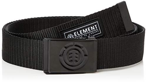 Element Herren Gürtel Beyond - Gürtel für Männer, all black, One size, U5BLA6, einheitsgröße