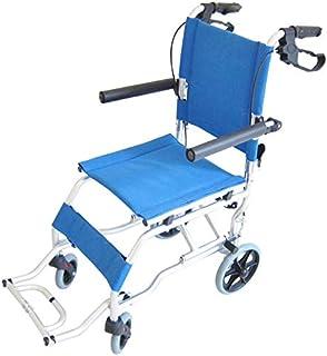カドクラ 簡易式車椅子 折りたたみ 軽量 ネクスト イースタンブルー A501-AB