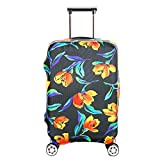 Fvstar Luggage Cover Washable Spandex Luggage Cover Travel Suitcase Cover Dustproof Luggage Protector TSA Approved Baggage Protective Cover
