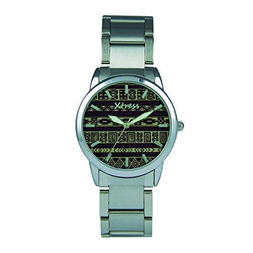 XTRESS Reloj Analógico para Hombre de Cuarzo con Correa en Acero Inoxidable XAA1038-50