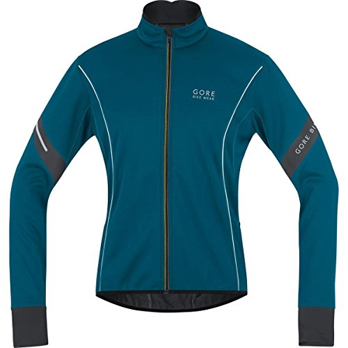 Gore Bike Wear- Hombre- Chaqueta de Ciclismo Power 2.0 Windstopper Soft Shell- Azul Oscuro, Talla XXL- JWMPOW
