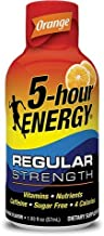 5 Hour Energy Shot, Orange, 24 Count