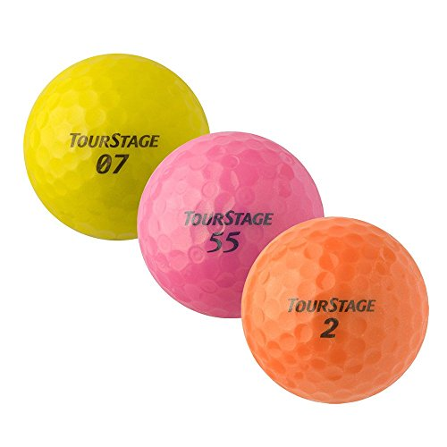 PEARL GOLF Bridgestone TourStage Mix - AAAA - bunt - gebrauchte Golfbälle - 25 Lake Balls