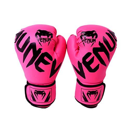 Boxhandschuhe, Trainingshandschuhe Boxen Handschuhe aus Hochwertiges PU Leder, mit Breitem Klettband, Ableitfähig, Wärmeleitend und Bequem, für Erwachsene Männer und Frauen