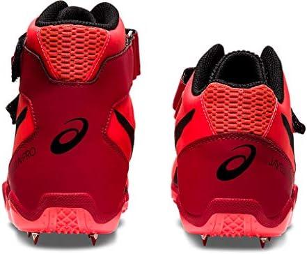 ASICS Unisex Javelin Pro 2 Track Field Shoes 10W Sunrise RED Black product image