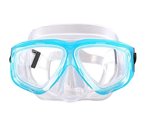 StrawBerrys Kurzsichtig Schnorchelmaske Taucherbrille Dioptrin Dioptrien Korrektur Tauchmaske für Erwachsene und Kinder mit Kurzsichtigkeit (N1, -3,0)