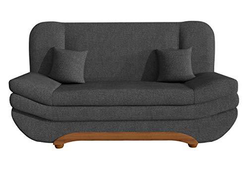 Mirjan24 Sofa Weronika mit Bettkasten und Schlaffunktion, Schlafsofa, Große Farb- und Materialauswahl, Couch vom Hersteller, Wohnlandschaft (Boss 12)