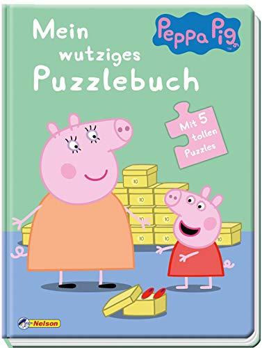 Peppa: Mein wutziges Puzzlebuch: Mit 5 tollen Puzzles (Peppa Pig)