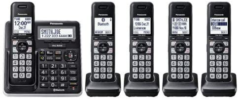 Panasonic Link2Cell DECT 6.0 Expandable Phone 市場 Cordless System wi 売れ筋ランキング