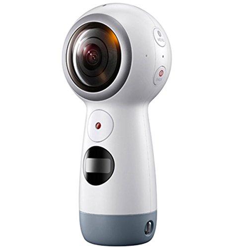 サムスン 4K対応360°カメラ「Gear 360(2017)」 SM-R210NZWAXJP