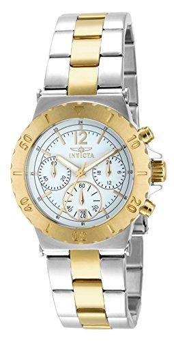 Invicta 14855 Specialty Reloj para Mujer acero inoxidable Cuarzo Esfera blanco