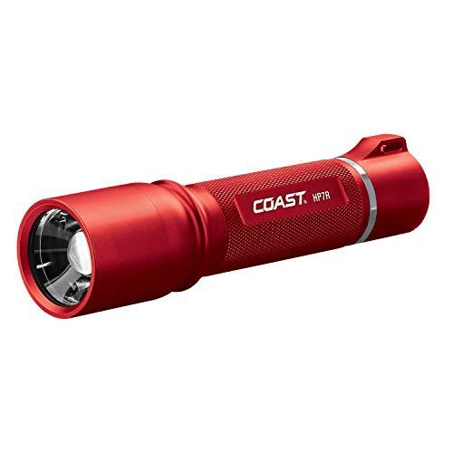 Coast hp7r wiederaufladbar Focusing 300Lumen LED Taschenlampe, HP7R-RD