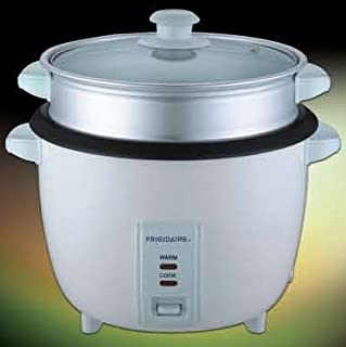 Frigidaire Rice Cooker with Steamer FD8028S, 2.8L, 1000W, White, with automatic Turn On Function to Warm Food, Cook & Keep...