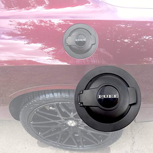 dodge challenger fuel door black - 8
