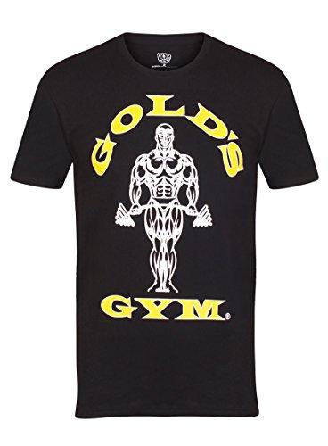 Golds Gym Herren T-Shirt, schwarz, L