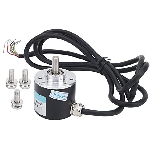 Codificador DC5‑24V ABZ, codificador trifásico incremental de 6 mm, utilizado en entornos de trabajo de precisión, automatización de oficinas y campos de ingeniería(C38S6G5‑400Z)