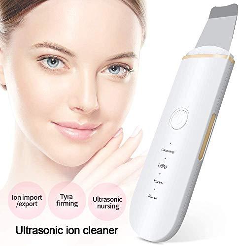 HWXDH Épurateur de la Peau du Visage pour Les Femmes ION Peeling Shovel Facial Pore Cleaner Remover Acne Lifting