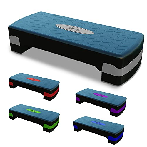 Respire Fitness Step Aerobics Platform with Non-Slip Stepping Surface for...