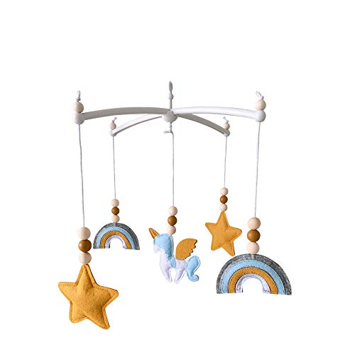 Baby Mobile Babybett Anhänger,Babyzimmer Dekoration Fotografie Requisiten,Neugeborene Geschenke (5)