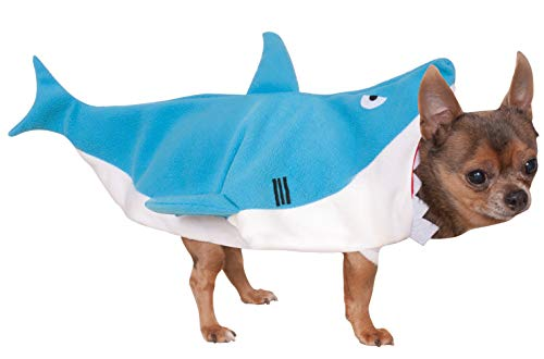 Rubie 's Offizielles Shark Pet Hunde Kostüm–groß