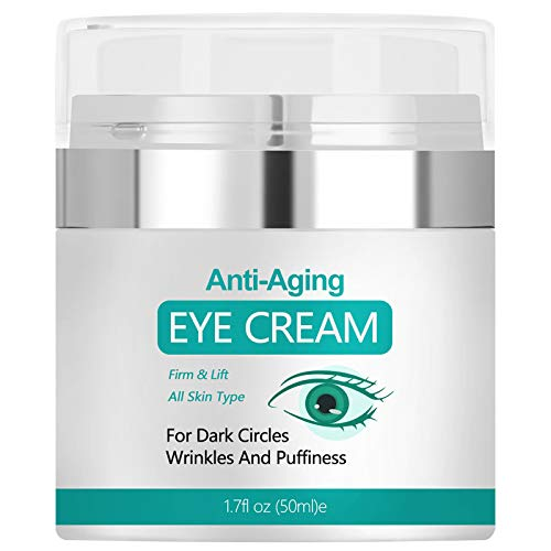 Eye Cream, Anti Wrinkle Eye Cream for Under Eye Bags, Reduce Dark Circles and Puffiness, Firm and Lift Your Skin,1.7fl. oz