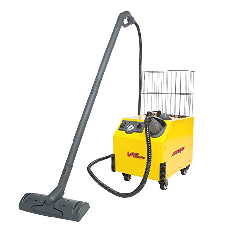 Vapamore MR-750 Ottimo Heavy Duty Steam Cleaner. Electronic Solenoid For Dry Steam Control, Full Stainless Steel Boiler,1 Gallon Water Capacity, Multipurpose, Chemical Free, 24 Professional Tools