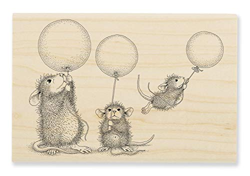Stampendous Balloon Fun Wood Rubber Stamp