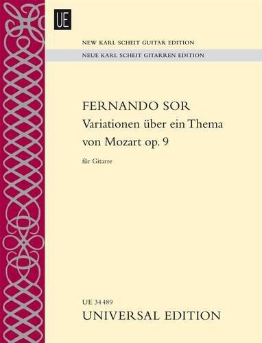 Variationen über ein Thema von Mozart: Introduktion und Variationen über