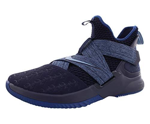 "Nike Herren-Basketballschuh ""Lebron Soldier XII"", Blau (Blackened Blue/Work Blue), 46 EU"