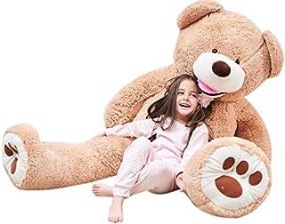 IKASA 160cm Giant Teddy Bear Stuffed Animal Toy Huggable Cute Sunny Cuddles Baby Doll