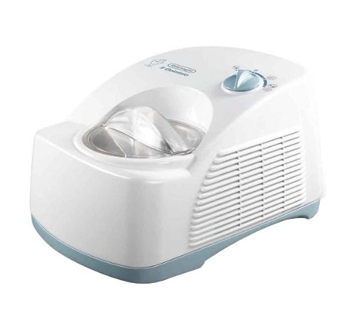 De'Longhi ICK 5000 Eiscremeautomat, Kompressor, weiß