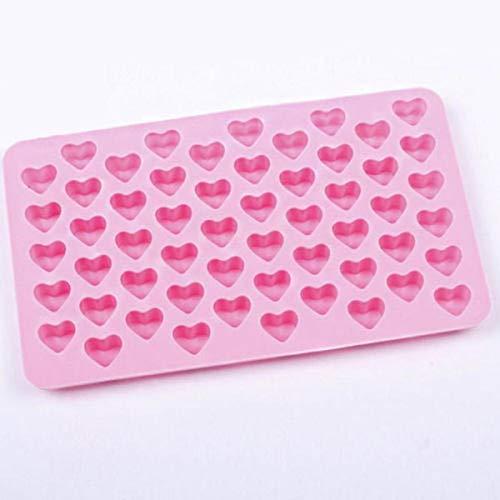 3D Silikon Diy Heart Form Schokolade Mold Cake Decorating Heart Shape Form Ice Cube Soap Jelly Tray Kitchen Baking Tool