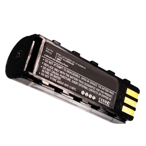 Exell Li-Ion Barcode Scanner Battery Fits Symbol LS3478, DS3478, LS3578, DS3578, XS3478 Replaces BTRY-LS34IAB00-00, 21-62606-01