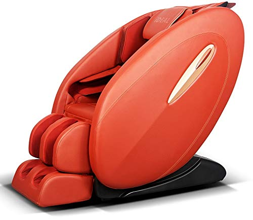 ideal massage Full Featured Shiatsu Chair with Built in Heat Zero Gravity Positioning Deep Tissue Massage (RED)