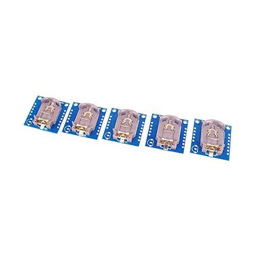 ANGEEK Tiny DS1307 I2C RTC DS1307 24C32 - Módulo de reloj de tiempo para Arduino (5 unidades)