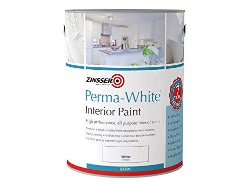 Zinsser zinpwis1l 1L perma-white interior satinado Pintura