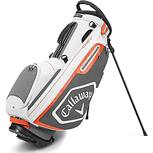 Callaway 5120074, Sacca da Golf Chev Stand, 2020 Unisex-Adult, Bianco/Carbone, Taglia Unica