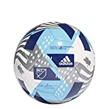 A durable soccer ball based on those used in elite competition Machine-stitched construction for high durability Butyl bladder for best air retention MLS printed logo Requires inflation