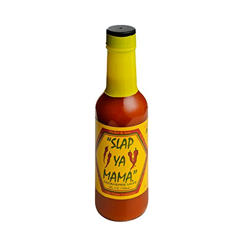 Slap Ya Mama All Natural Louisiana Style Hot Sauce, Cajun Pepper Flavor, 5 Ounce Bottle, Pack of 1