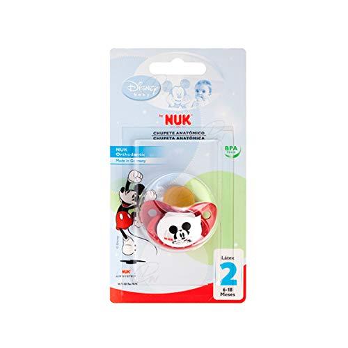 NUK Chupete Disney Mickey Anatómico Látex 6-18 meses 1 unidad