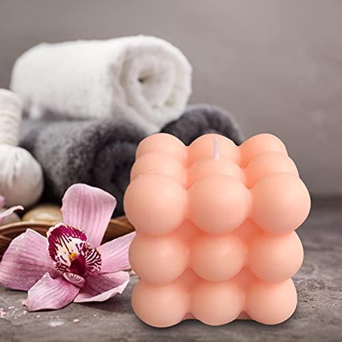 ZheeYi Vela de Burbujas de Cera de Soja Pura, Vela de aromaterapia, Vela perfumada Regalo para Mujeres para Yoga SPA Meditación Alivio de estrés cumpleaños de Navidad