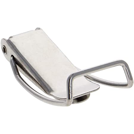 201 Stainless Steel Spring Loaded Toggle Latch Catch Clamp 118.5mm 4 pcs