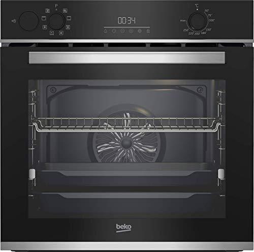 Beko Horno BBIS13300X Multifunción/AeroPerfect/Cocina Multidimensional con Soporte de vapor/Alto x Ancho x Profundidad/59,4 x 56,7 cm
