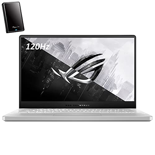 "ASUS ROG Zephyrus G14 14"" FHD 120Hz Gaming Laptop Computer, Octa-Core AMD Ryzen 9 4900HS (Beat i7-10750H), NVIDIA GeForce RTX 2060 Max-Q, 40GB DDR4 RAM, 2TB PCIe SSD, Win 10, iPuzzle 320GB External HD"
