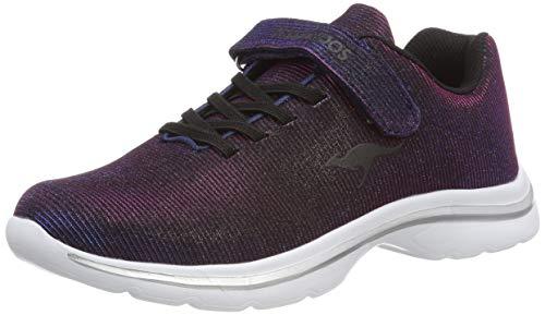 KangaROOS Unisex-Kinder Kangashine EV II Sneaker, Blau (Dk Navy 4071), 31 EU