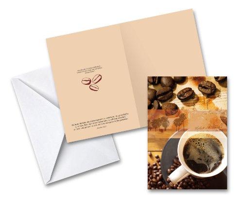 Grußkarte 'Kaffee'