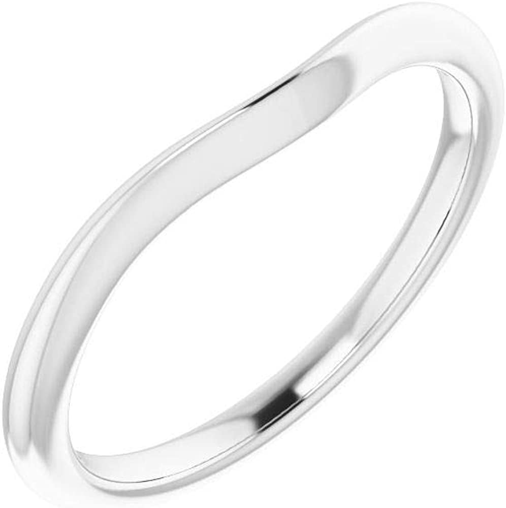Solid 925 Sterling Silver Many popular brands 4.5mm Square 7 Wedding Band Size - S service